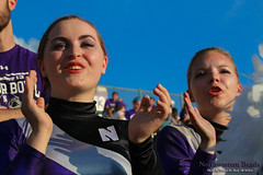 Let's Go, 'Cats! ::     The Northwestern University 'Wildcat' Marching Band performs at  Ryan Field as Wildcat Football hosts California on August 30, 2014.  Photo by Daniel M. Reck '08 MSEd.