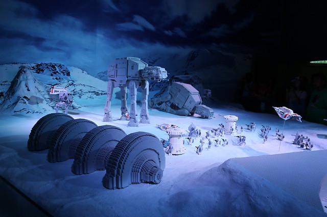 The Battle of Hoth saw the Imperial army eventually destroying the Rebel Alliance's power generators