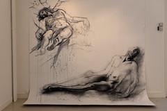 Exposition Ernest Pignon-Ernest et les peintres caravagesques au Musée de Vire - 2014
