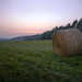 Small photo of Hay Bail in the Twilight