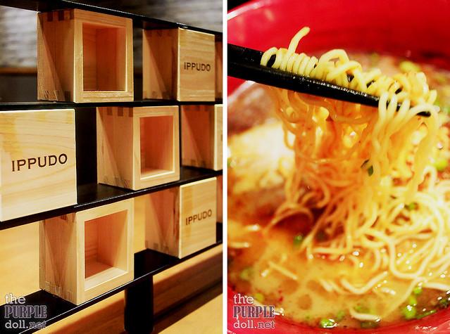 Ippudo noodles to your liking - soft, medium, hard, very hard