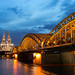Small photo of Cologne blue hour