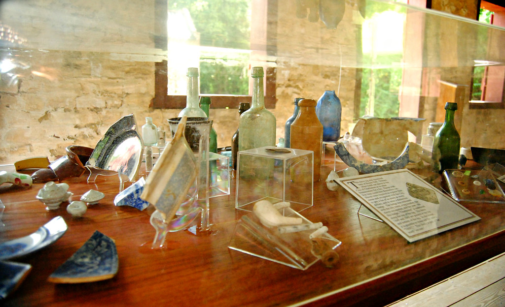Boone Hall Slave House Artifacts
