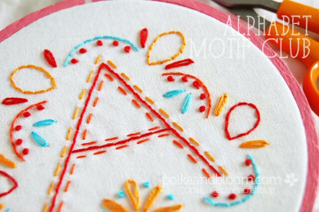 Alphabet Motif Club