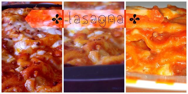 lasagna veloce collage 2