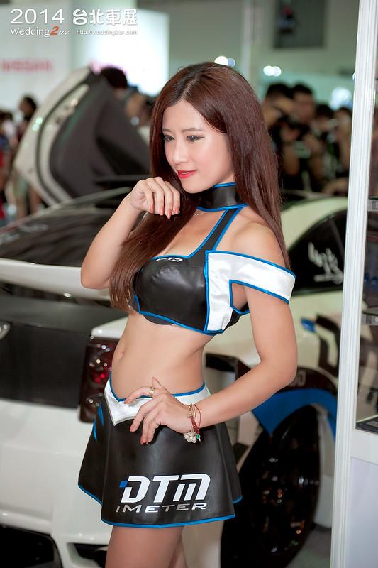 2014台北車展 show girl,51