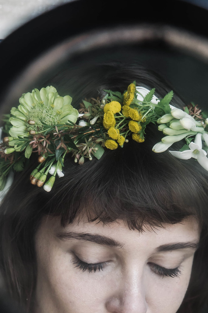 Making a Floral Crown