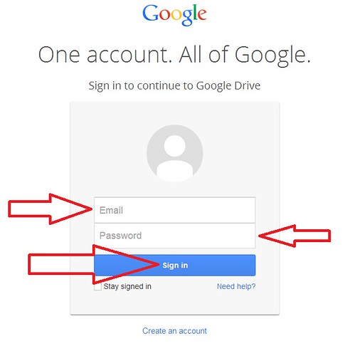 cara daftar google drive