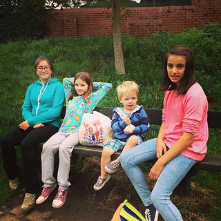 Picnic time on our @tescofood #tescofuelsave day out.