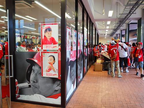 商店區外也是有商品攤販的設立