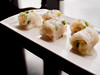 Prawn and crispy vermicelli rice rolls