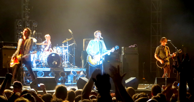 The Replacements, Toronto, Ontario, Aug. 2013, photo by Brad Searles, used by permission (crop)