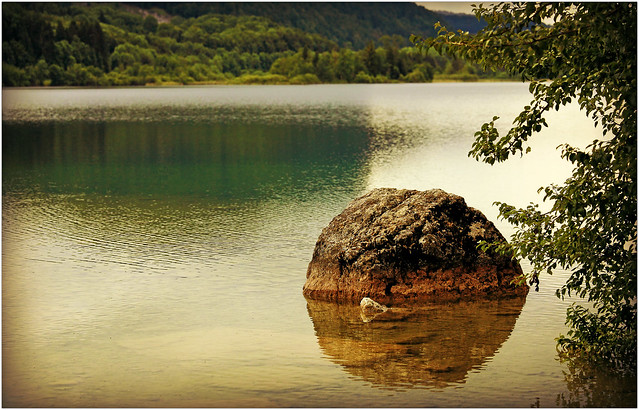 Lac d'Ilay, Jura, Franche-Comté, France