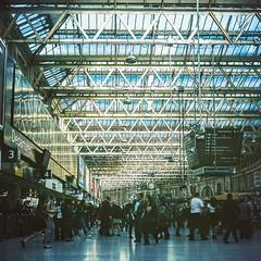 Waterloo Station by Sam Salek