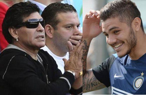 Maradona vs Icardi