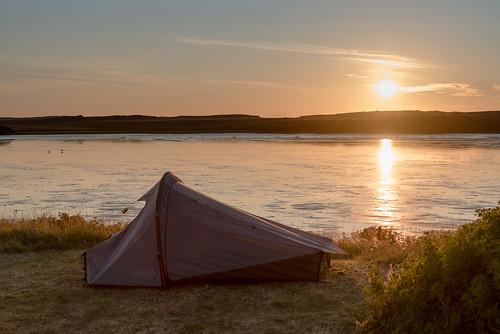 camping summer iceland tent islande 2014 borgarnes vesturland