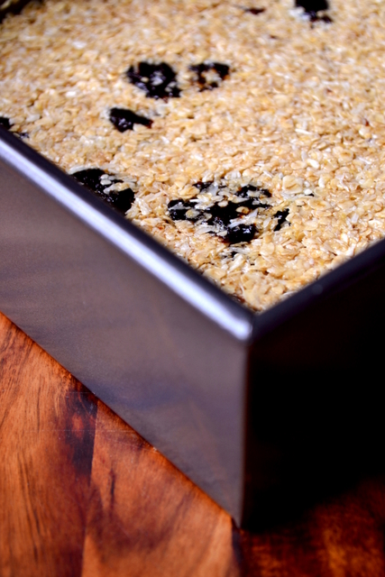 Coconut & Prune Flapjack Recipe