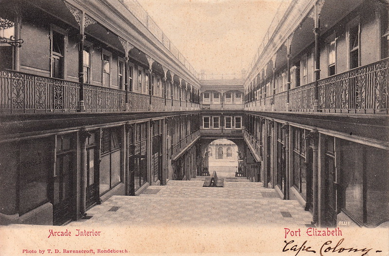 83223. Arcade Interior, Port Elizabeth by T. D. Ravenscroft (c.1900)
