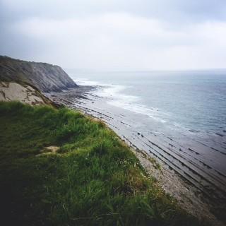 French Basque Cliffs