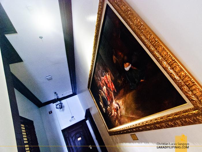 Spolarium Replica at Hotel Luna in Vigan