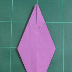 วิธีพับกระดาษเป็นรูปเต่าแบบง่าย (Easy Origami Turtle) 013