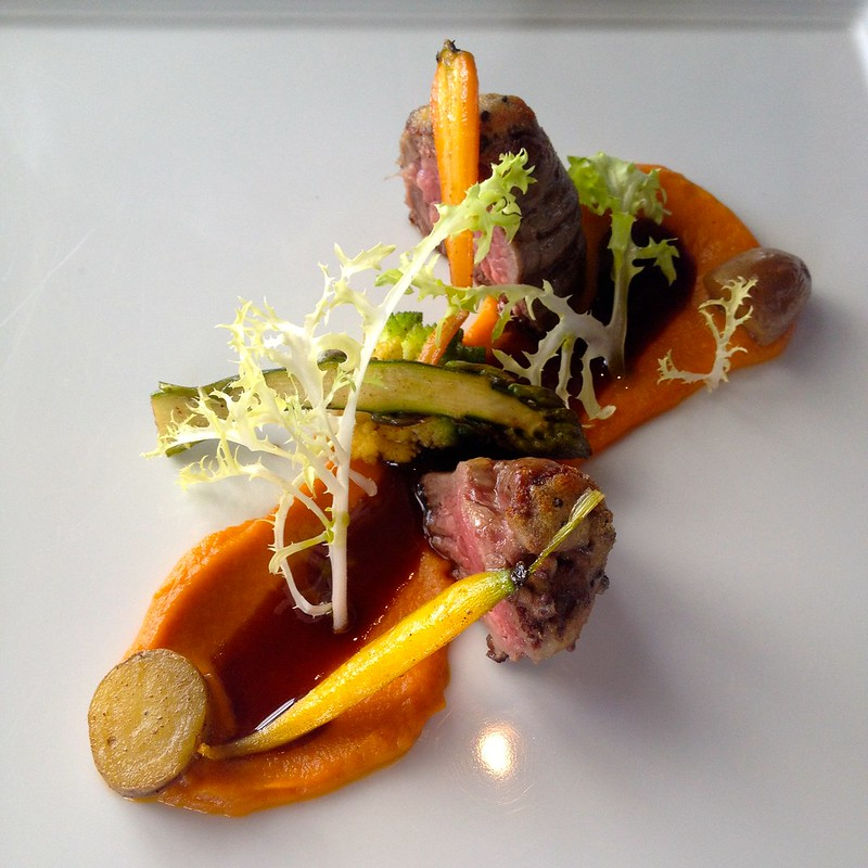 il Lido_Bone Marrow Crusted Angus Beef Tenderloin, Heirloom Carrots