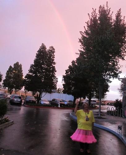 Rainbow in Petaluma