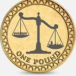 Pound coin design scales