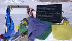 Na szczycie Elbrus 5642m