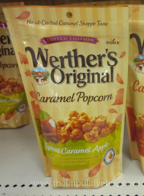 Werther's Original Limited Edition Spiced Caramel Apple Caramel Popcorn