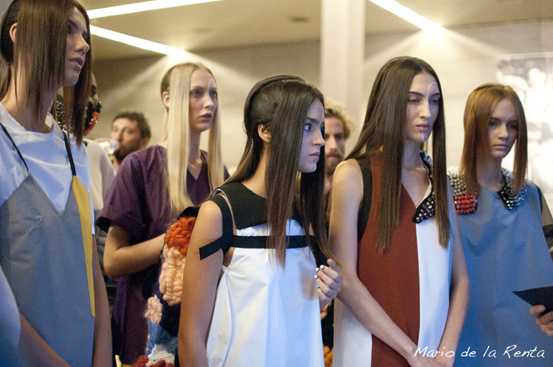 BACKSTAGE SONIA CARRASCO MFSHOW SS15 13