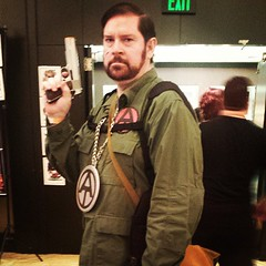 Adventure Team GI Joe was one of the better cosplays at Fanboy Expo
