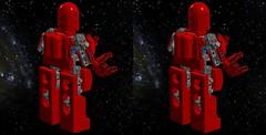 Classic Space Exo-suit 3D back