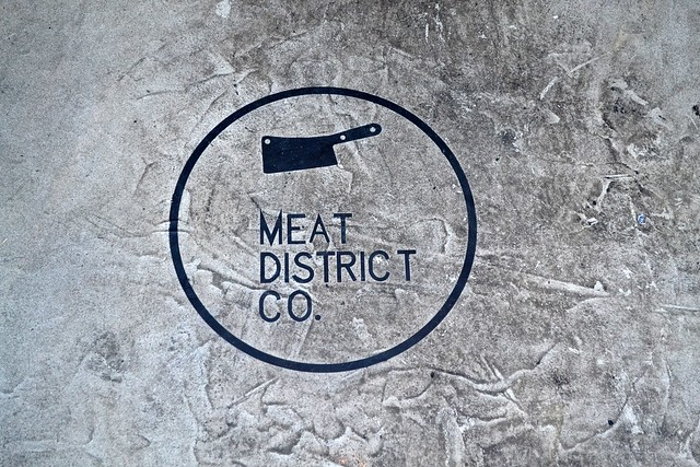 meat district co wall