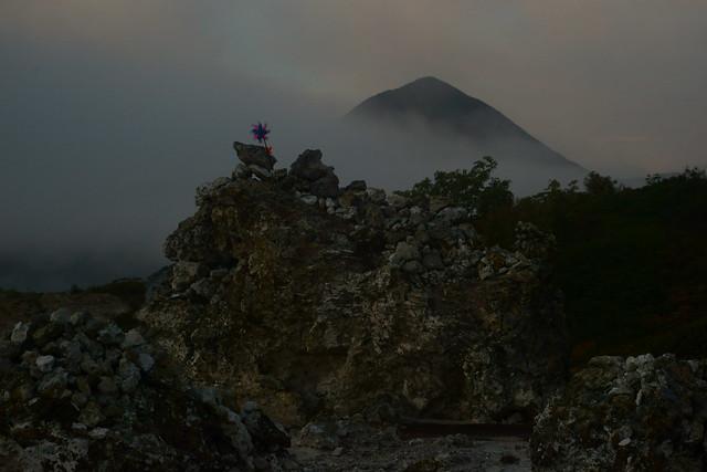 恐山 Osorezan, Aomori Japan, at dawn, 22 Sep 2014. 115