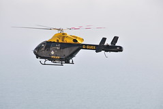 Sussex police helicopter on patrol