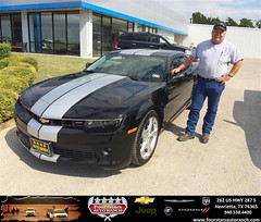 Congratulations to James Rogers on your #Chevrolet #Camaro purchase from Gene Klinkerman at Four Stars Auto Ranch! #NewCar
