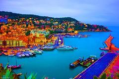 NathalieLauro, grafic art, digital art, colors, design, variations,boats, habor, sea, sun,  , Monaco, Monte Carlo, French Riviera, Cannes. Marseille, Corsica,Hambour, (2)