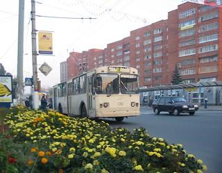 Tula trolleybus 130 ЗиУ-682В-012 [В0А] built in 1990, withdrawn in 2006.