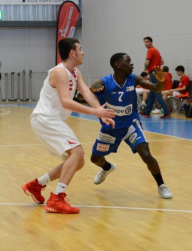 Grande Finale Fribourg Académie U16m -  Swiss Central Basket 21