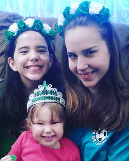 Happy St. Patrick's day from the grand daughters and great grand of Virginia Mcguirk!