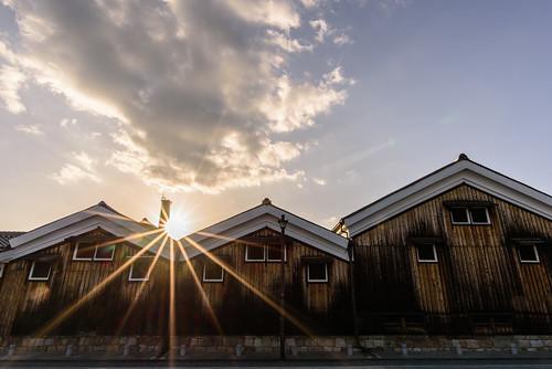 京都市 京都府 japan kyoto 伏見 建築物 architecture 夕景 sunset