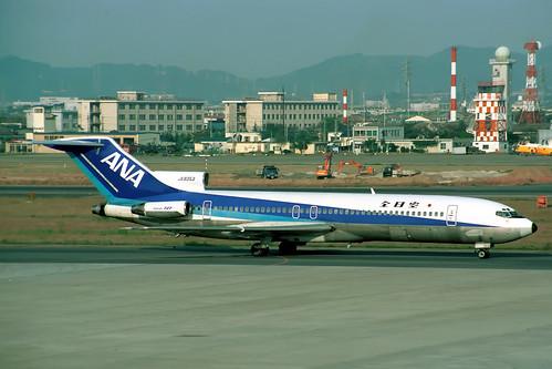 JA8353 Boeing 727-281 All Nippon Airways