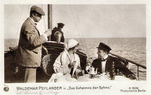 Valdemar Psilander in Das Geheimnis des Sphinx