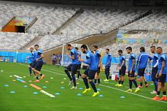Copa do Mundo Fifa 2014 - Mineirão - Primeiro dia de treino