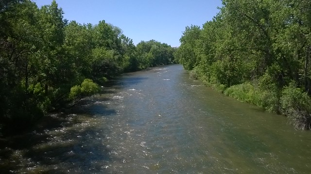 Platte River from the Mary Carter Greenway Trail