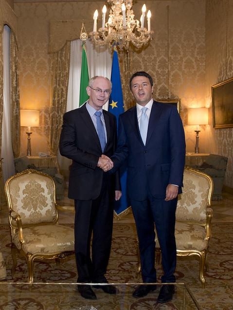 Il Premier Renzi: