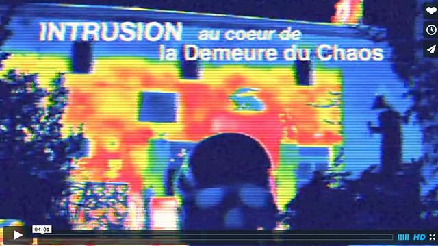 thierry Ehrmann : Intrusion nocturne par des drones � la Demeure du Chaos