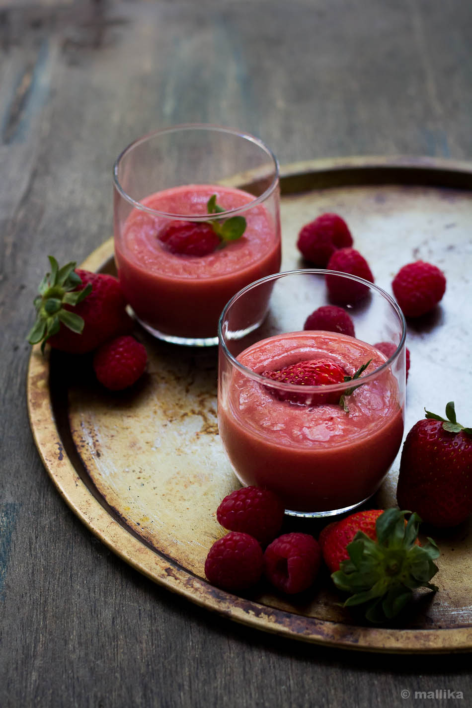 Vegan Banana Berry Smoothie 3