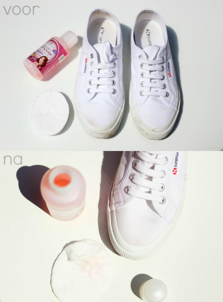 vans schoenen poetsen